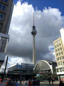 Alexanderplatz mit Blick auf den Fernsehturm