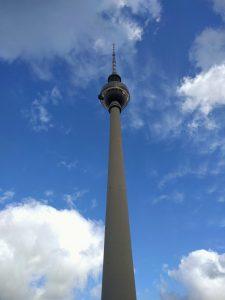 Beeindruckender Blick auf den Fernsehturm