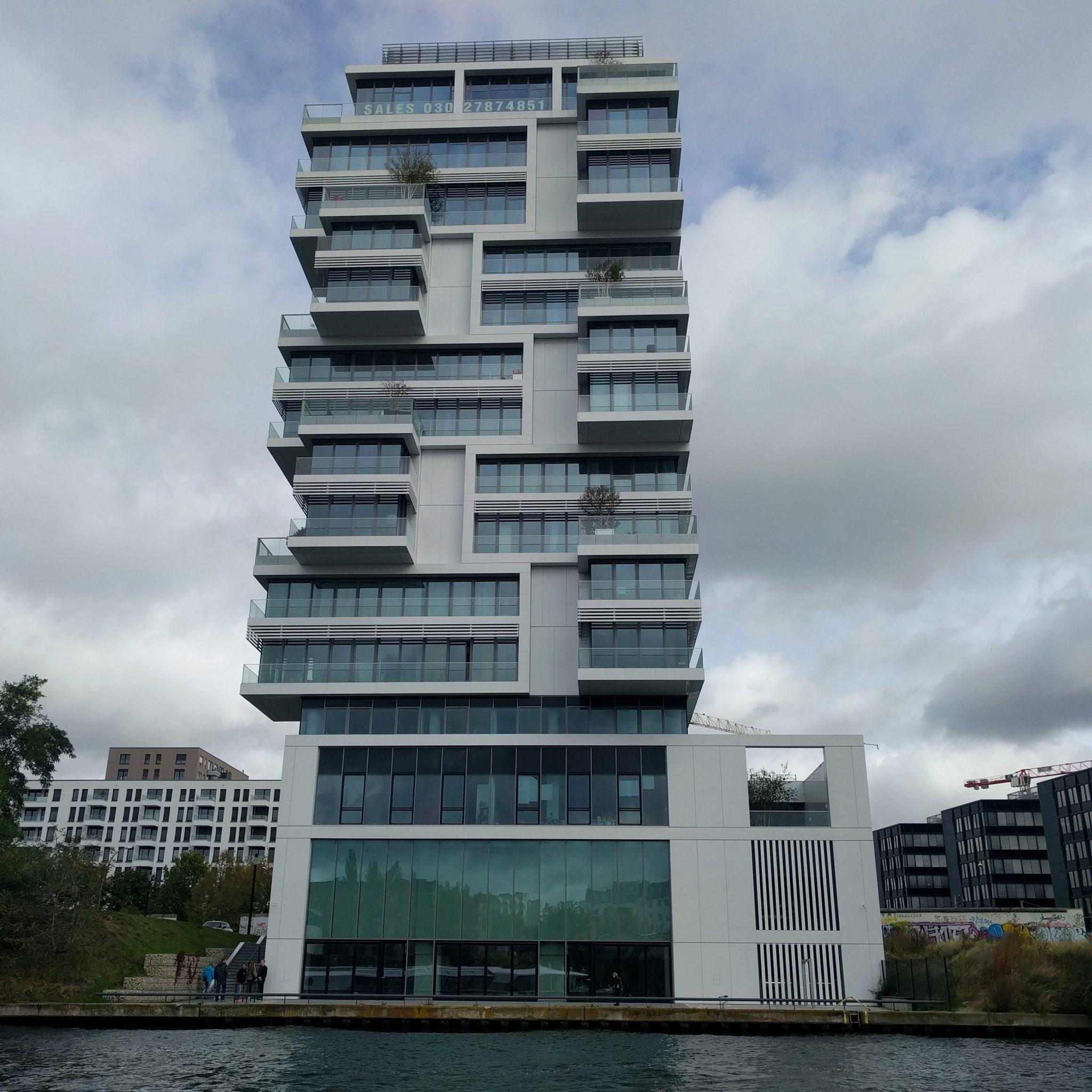 beeindruckende Luxuswohnungen entlang der Spree
